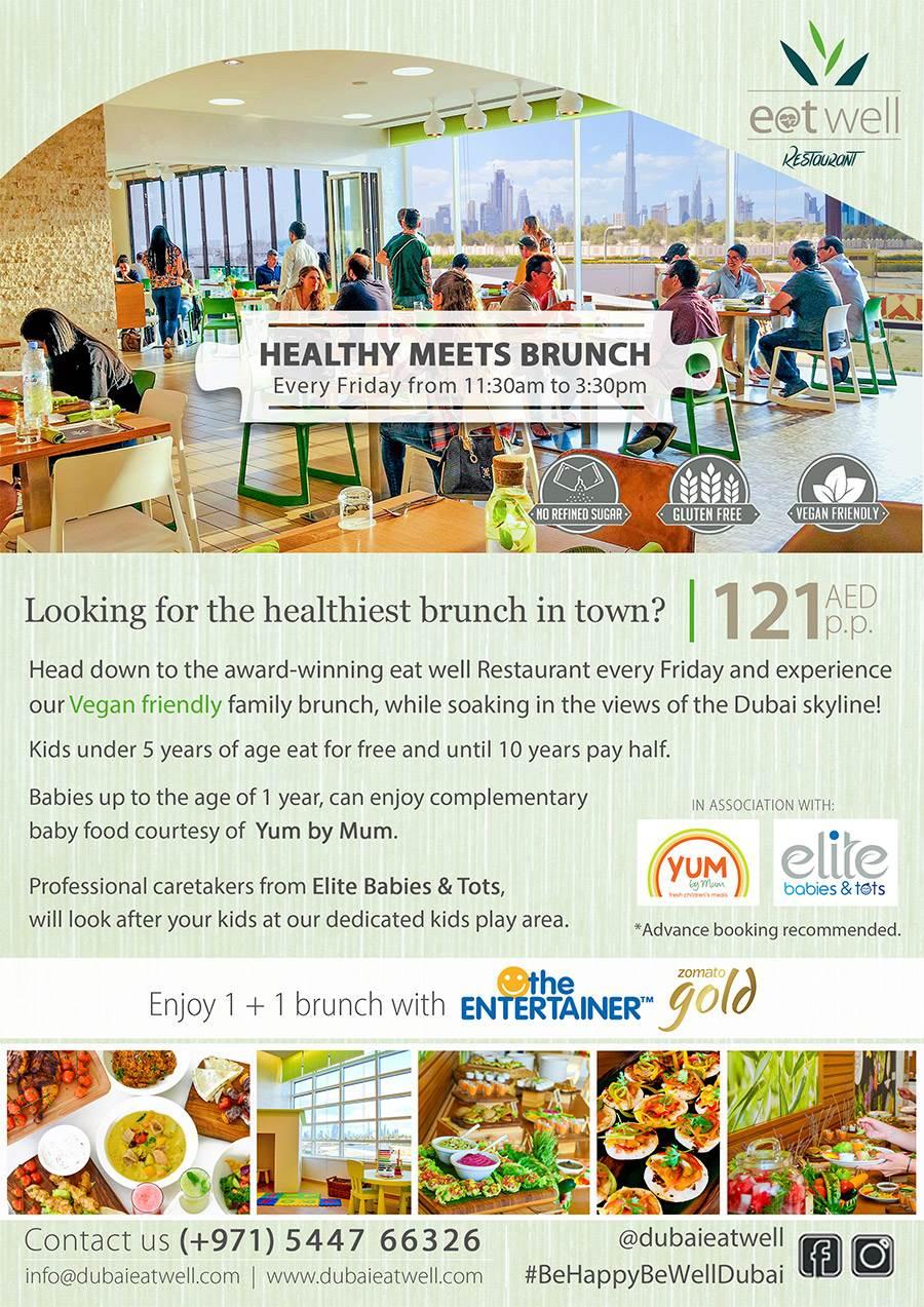 HEALTHY MEETS BRUNCH